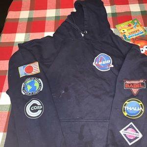 Logic NASA Space Pullover Hoodie